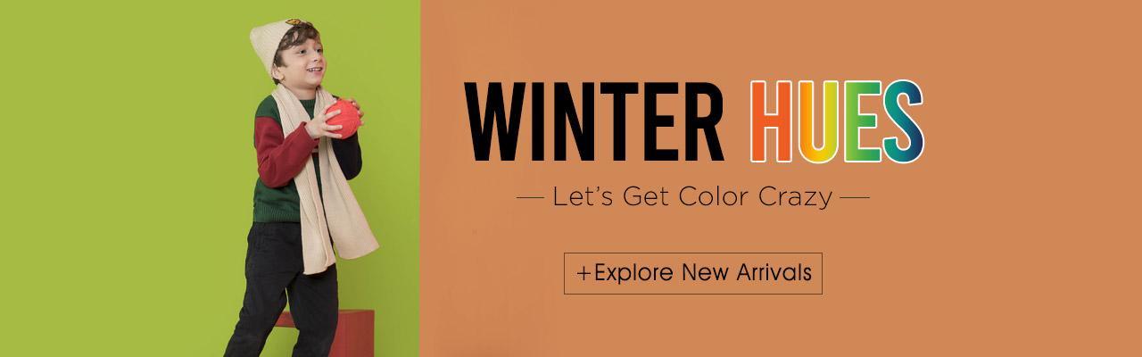 Winter Hues- New Arrivals