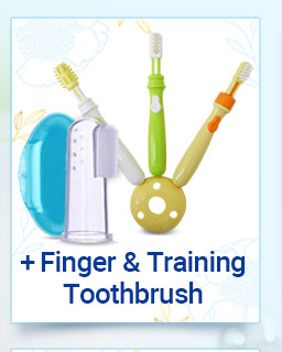 Finger & Training Toothbrush