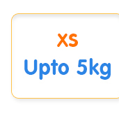 XS Upto 5kg