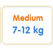 Medium 7-12 kg