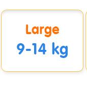 Large 9-14 kg