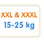 XXL & XXXL 15-25 kg