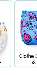 Clothe Diaper Pants & Inserts
