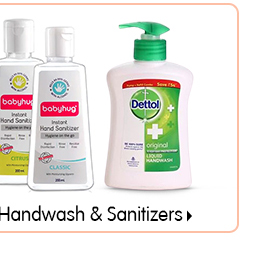 Handwash & Sanitizers
