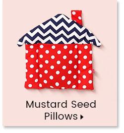 Mustara Seed Pillows