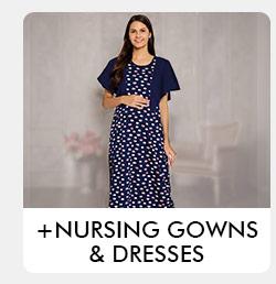 Nursing Gowns Dresses