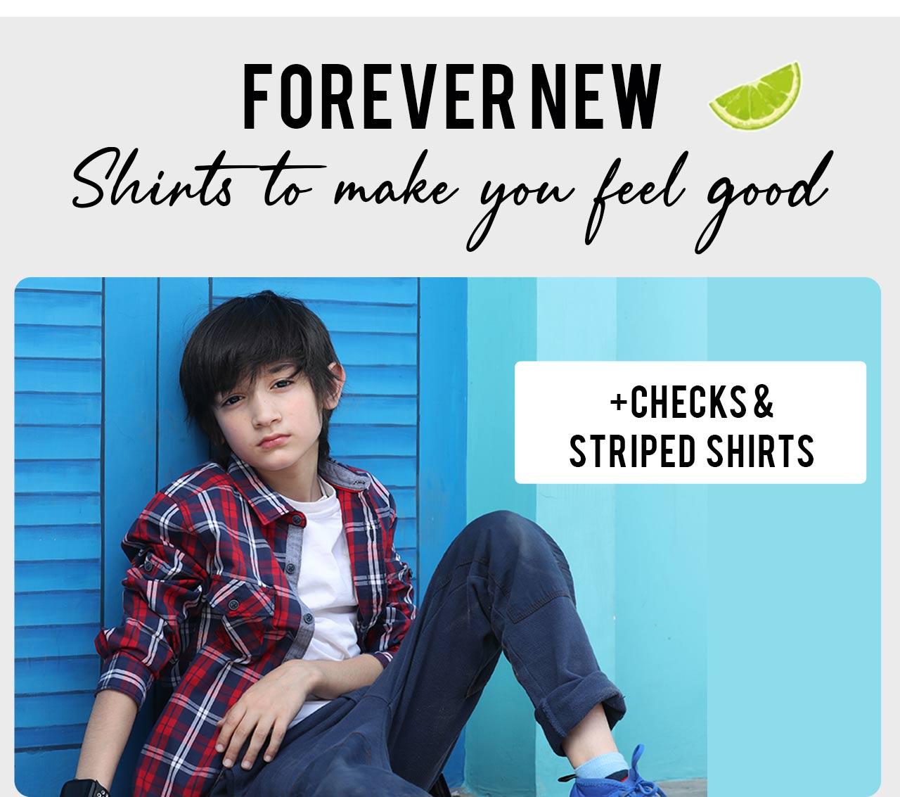 Checks & Striped Shirts
