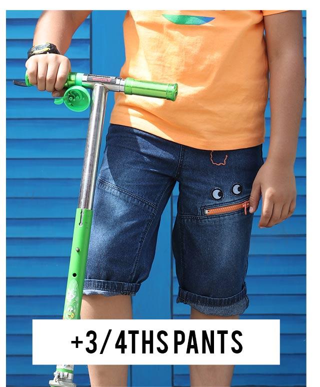 3 4ths Pants