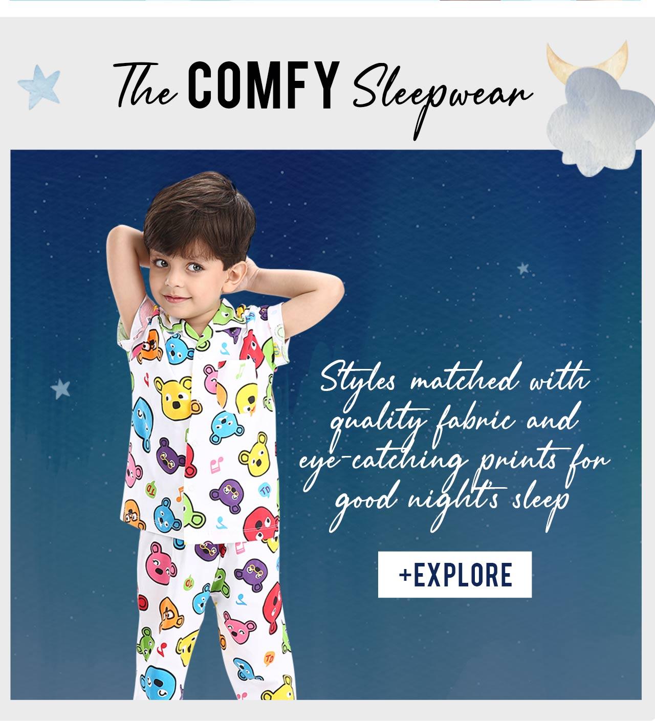 The Comfy Sleepwear