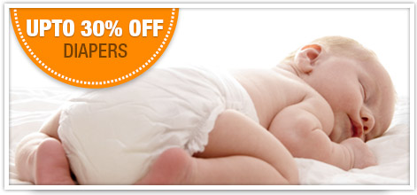 Upto 30% Off Diapers