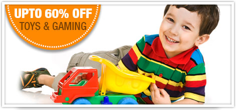 Flat 60% Off Toys & Gaming
