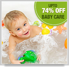 Upto 74% Off on Baby Care