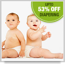 Upto 53% Off on Diapering