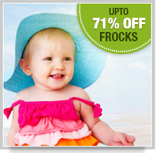 Upto 71% Off on Frocks