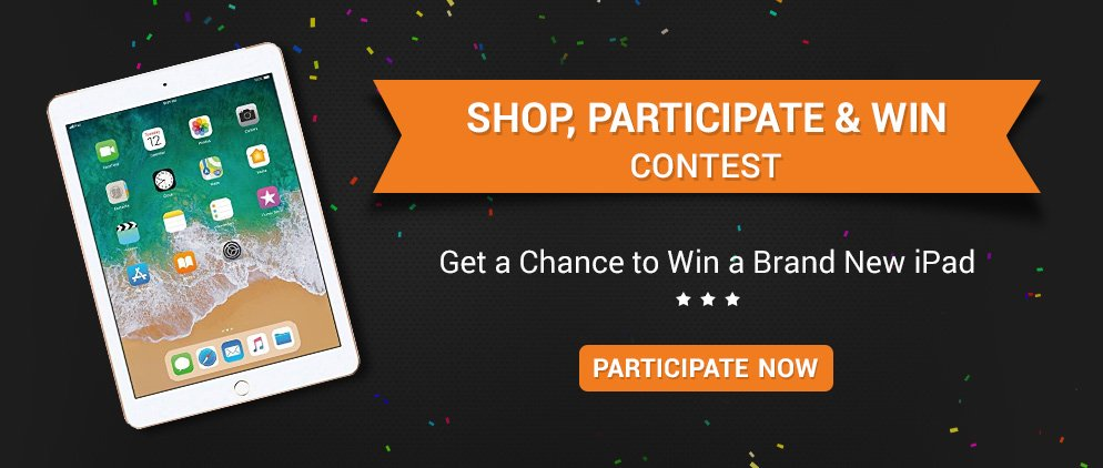 SHOP, PARTICIPATE & WIN CONTEST