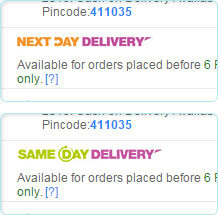 Same Day & Next Day Delivery Free & Guaranteed - Online Shopping at