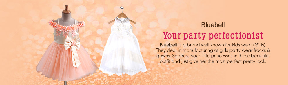 6c9676b1470 Buy Bluebell Party Wear Online in India at FirstCry.com