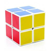 Emob 2x2 Rubik Magic Puzzle - Neon Colors