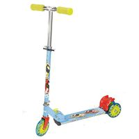 Toyhouse Three Wheeled Metal Folding Scooter - Blue
