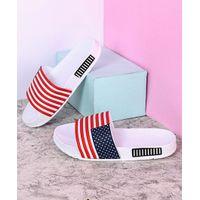 Kidlingss Flip Flops Flag Design - White