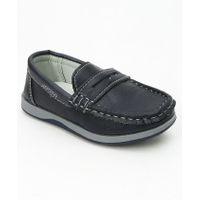 Cute Walk by Babyhug Party Wear Loafers - Navy Blue