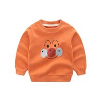 Pre Order - Awabox Joker Face Patch Full Sleeves Sweatshirt - Orange