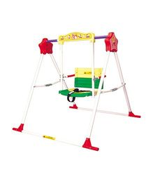 Babe Comfort High Class Chilren Swing - Yellow Green Red White