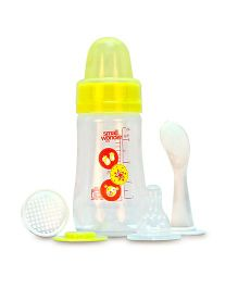 Small Wonder Feeding Bottle Yellow - 125 ml
