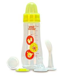 Small Wonder Feeding Bottle Yellow - 250 ml