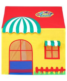 Playhood Holiday Resort Tent House - Yellow And Red
