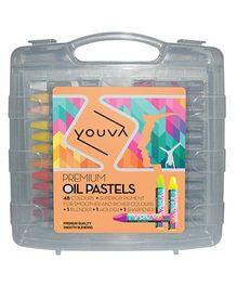 Youva Premium Oil Pastels - Pack of 48 Shades