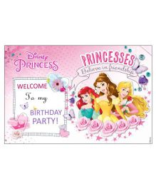Disney Princess Welcome Banner - Pink