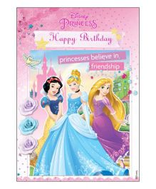 Disney Princess Centrepiece - Multi Color