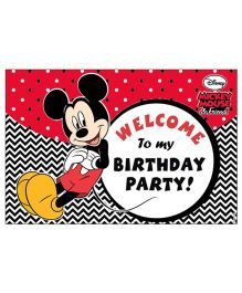 Mickey Mouse Welcome Banner