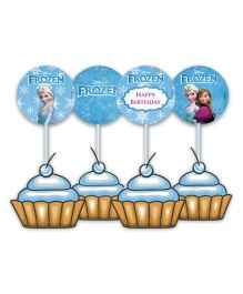 Disney Frozen Cupcake And Food Toppers - Pack of 10
