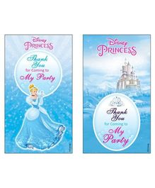 Disney Cinderella Thankyou Cards - Pack of 10