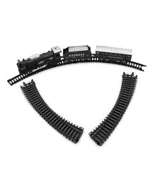 Toycry Battery Operated Train With Track - 13 Pieces (Colors may vary)