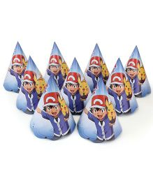 Pokemon Paper Hats Blue - 10 Pieces