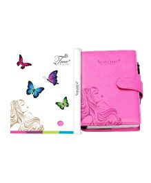 Tiara Diaries Pregnancy and Baby Journal Cum Planner - Pink
