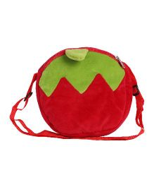 Hello Toys Fruit Shaped Sling Bag Red - 16 Inches