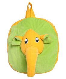 Hello Toys Elephant Soft Bag Green Yellow - 15 Inches