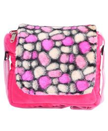 Hello Toys Plush Sling Bag Pink - 8 Inches