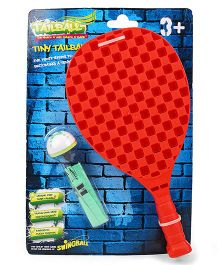 Mookie Tail Ball With Racket Blister Pack - Multicolor