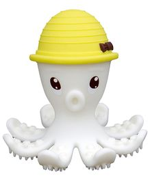 Mombella Octopus Silicone Teether Toy- Yellow