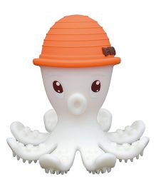 Mombella Octopus Teether Toy - Orange