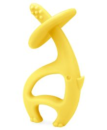 Mombella Dancing Elephant Teething Toy - Yellow