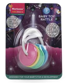 Morisons Baby Dreams Wheel Shape Classic Toy Rattle - Multicolor