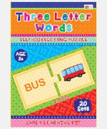 Art Factory Three Letter Words Foam Puzzle - 20 Sets