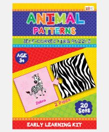 Art Factory Animal Pattern Foam Puzzle - 20 Sets