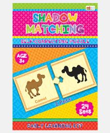 Shadow Matching Self Correcting Puzzles - 2 Pieces